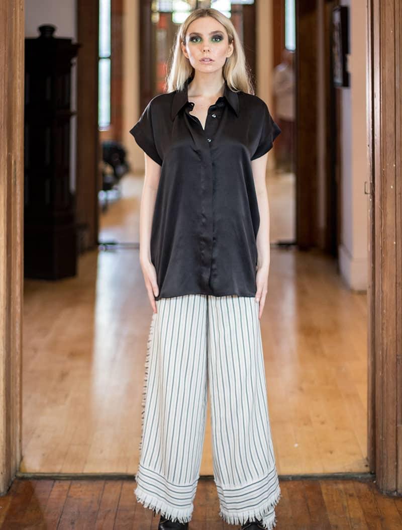 100 % Raw Silk Boho Pants – Cruelty-free