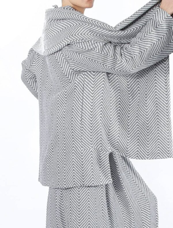 Chevron Jacket - 100 % Organic Cotton