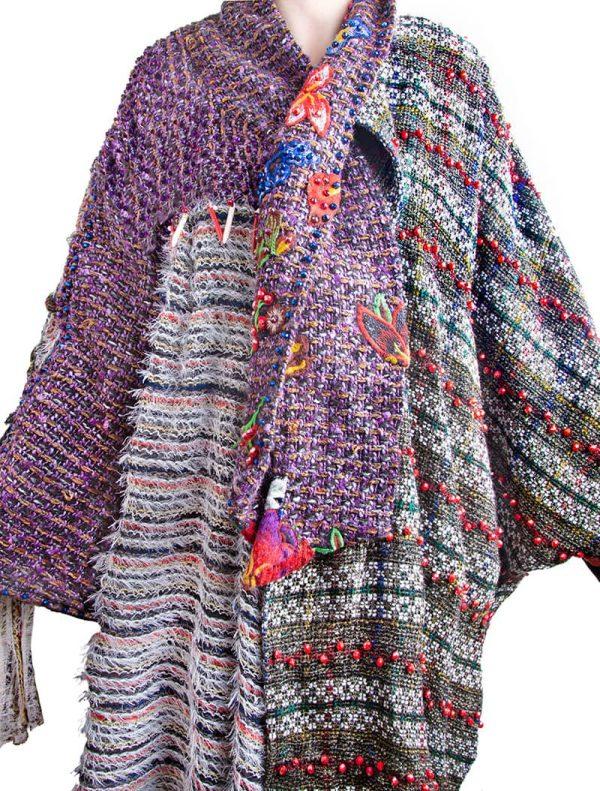 Hand Beaded jasmine jacket