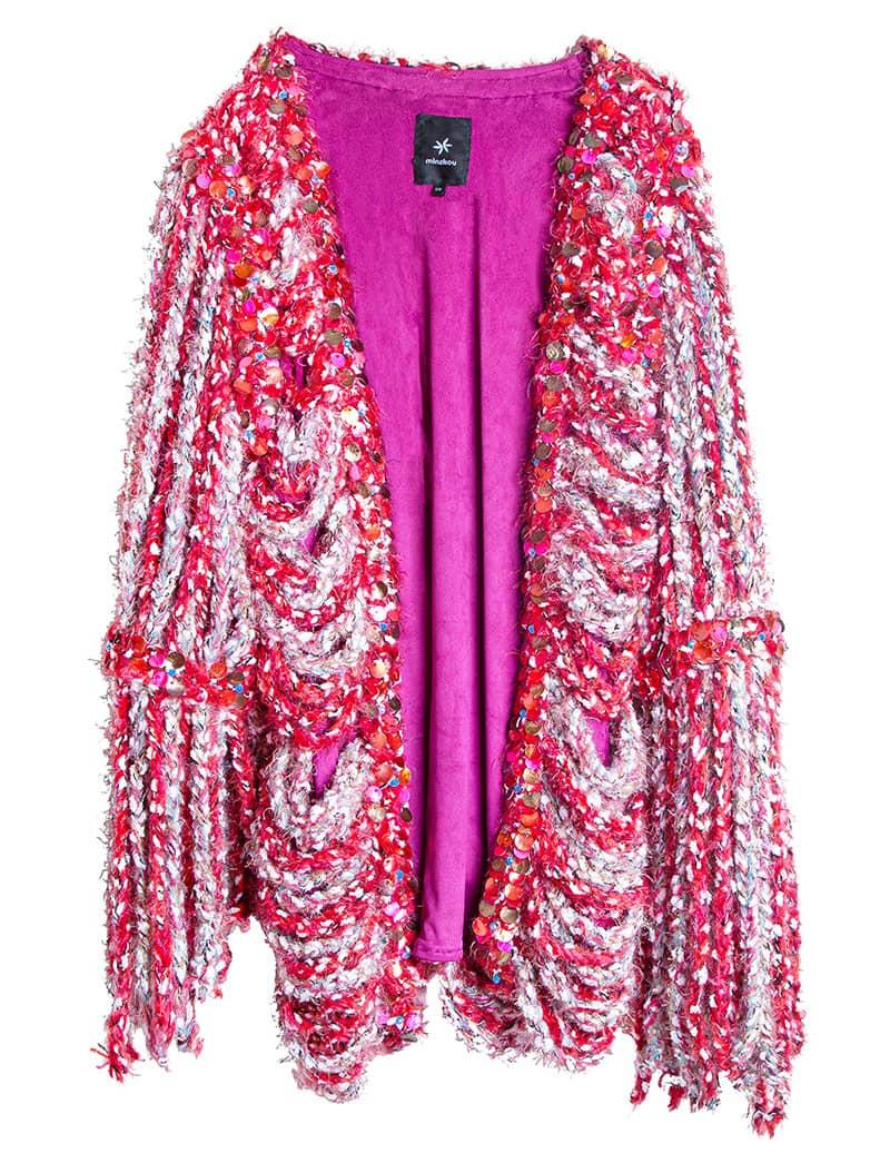 Hand-knitted Venusian Pearl Jacket